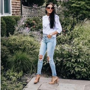 Express Distressed Jeans/Denim